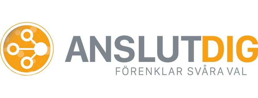 Anslutdig logotyp