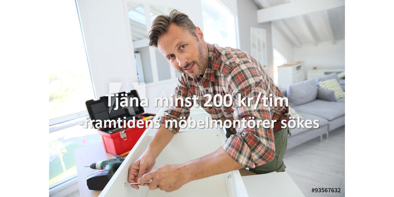 Möbelmontering rutig skjorta